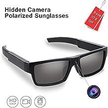 ENKLOV HD 1080P Polarized Sunglasses with Mini Camera,Video Record+Loop Recording+Free 16GB Micro SD Card+Free Sunglass Case,A Perfect Gift