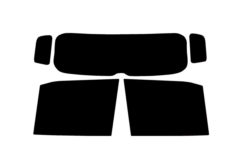 PSSC Pre Cut Rear Car Window Films - Jeep Renegade 2014 to 2016 4 Door 70% Very Light Tint PSSC Window Film