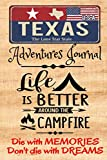 Texas Adventures Journal: The Forests are Calling | Compliment Travel Guide & Camping Prompt Book | Record Campsite Lakes Fun Plateau Memories Trails ... Keepsake Logbook (Texas Adventure Hiking)
