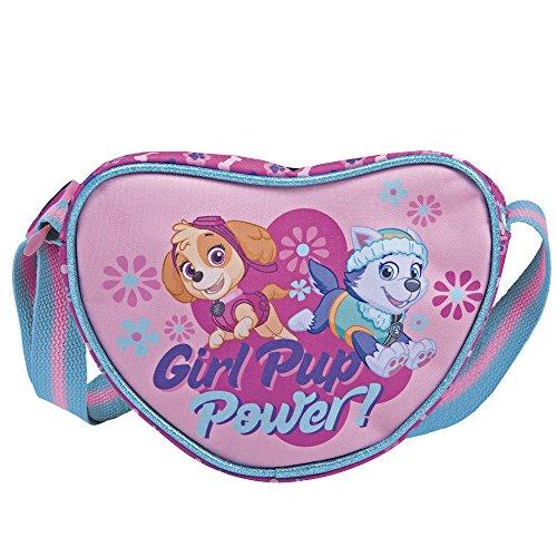 Paw Patrol – Herztasche für Mädchen Perletti