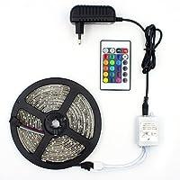 Fita de LED RGB 5050 14,8w/m - Rolo 5m IP65