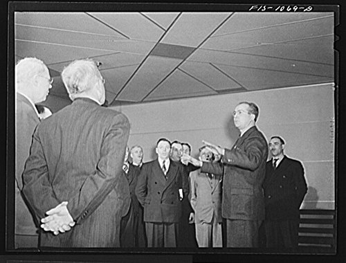 1942 Photo Minneapolis, Minnesota. Chorus singing at a meeting of the Smaland Society, an organization of people from the province of Smaland, Sweden Location: Hennepin County, Minneapolis, Minnesota by Historic Photos