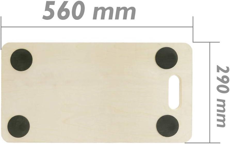 Piattaforma Triangolare Carrello di carico e Trasporto con Ruote 545 mm PrimeMatik