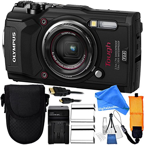 Olympus Tough TG-5 Digital Camera  Includes x2 Extended Life