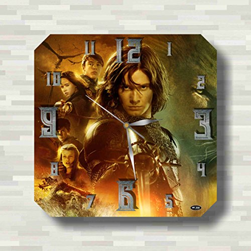 The Chronicles of Narnia 11.8'' Handmade unique Wall Clock - Get unique décor for home or office – Best gift ideas for kids, friends, parents - White Witch Narnia Costume Kids