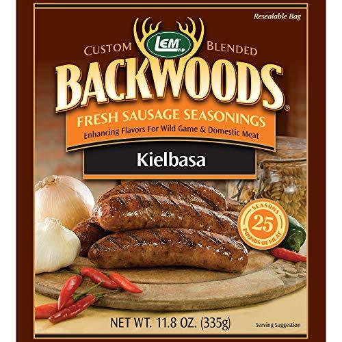 - LEM Backwoods Kielbasa Fresh Sausage Seasoning