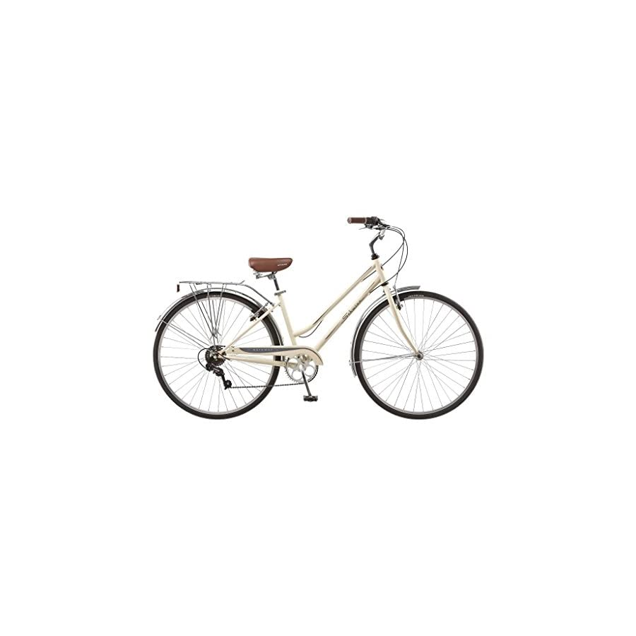 "Schwinn Women's Gateway 28"" 700c Hybrid Bike,Cream"