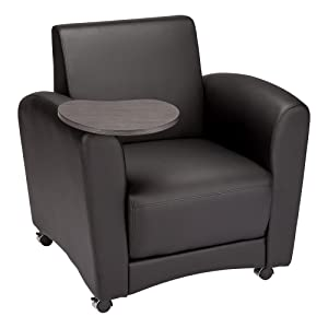 Learniture Mobile Common Area Guest Sofa w/ Tablet Arms