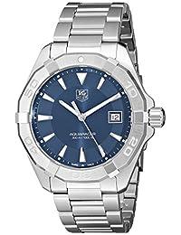 Tag Heuer WAY1112.BA0910 Men's Aquaracer Wrist Watches