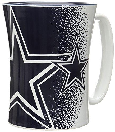 Boelter Brands NFL Dallas Cowboys Mocha Mug, 14-ounce, (Dallas Mug Cowboys Nfl)