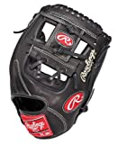 Rawlings Heart of the Hide Pro Mesh Infield Baseball Glove (Black, Right Hand Throw, 11 1/4-Inch)