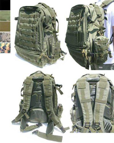 Condor Tactical Expedition Combat 3 day assault Back Pack – OD Green, Outdoor Stuffs