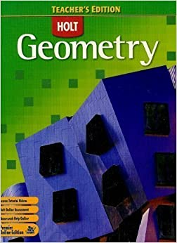 Amazon.com: Geometry (Teacher's Edition) (9780030385247): RINEHART ...