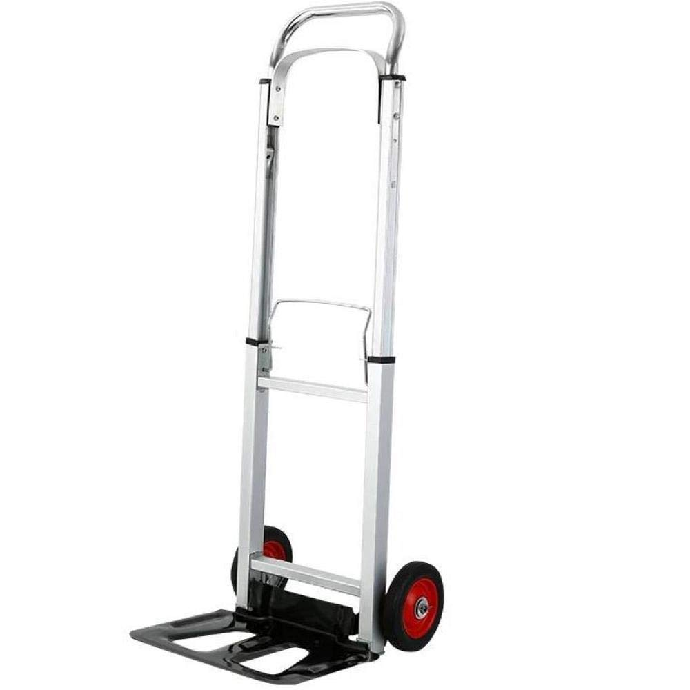 Folding Trolleys, Aluminum Luggage, Portable Trucks, Folding Handling, Maximum Load-Bearing 80Kg, Luggage cart by Hokaime