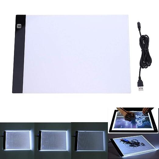 A4 Mesa de Luz, Mesa de Luz de Dibujo, LED Tableta de Luz de ...
