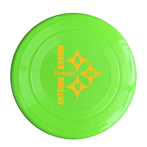 (AOLM Pittsburgh Football Sport Player NO.84 Antonio Outdoor Game Frisbee Sport Disc KellyGreen )