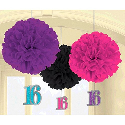 Fluffy Decoration | Sweet Sixteen Collection | Birthday -