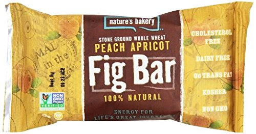 Nature's Bakery Peach Apricot Bars 2 oz. (Pack of 6)