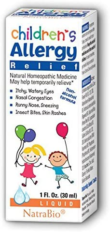 Natra Bio 897199 NatraBio Childrens Allergy