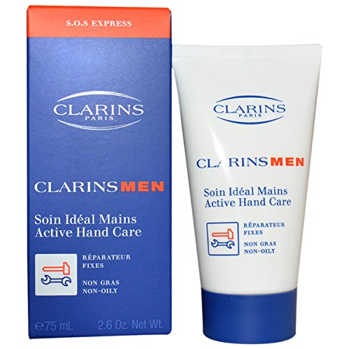 Clarins Men Active Hand Care for Men, 2.6 Ounce