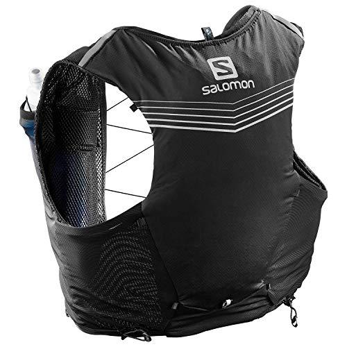(Salomon Unisex Adv Skin 5 Set Black X-Large)