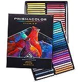 Prismacolor 27055 Premier NuPastel Firm Pastel Color Sticks, 96-Count,Multicolor