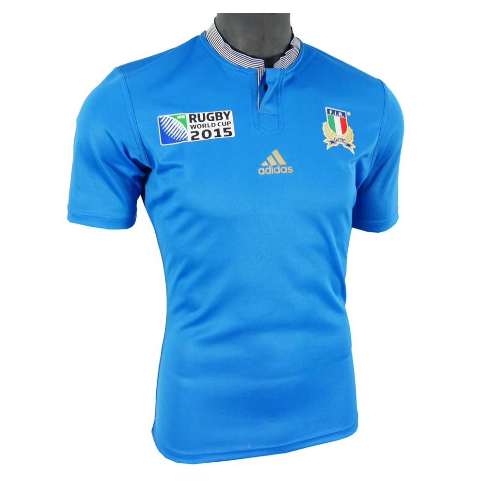 ITALY RWC 2015/2016 Men's Rugby Jersey, Blue, M