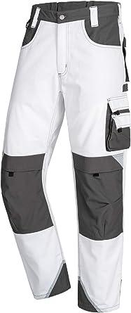 Nitras Motion Tex Plus Pantalones De Trabajo Multibolsillos Pantalones Para Trabajar Para Obras Electricistas Mecanicos Carpinteros Amazon Es Ropa Y Accesorios