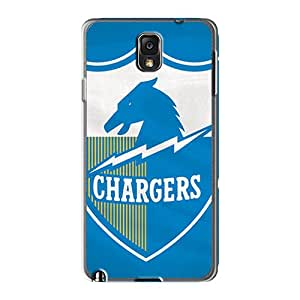 Shock Absorbent Hard Cell-phone Case For Samsung Galaxy Note 3 (cWl19545HmIM) Allow Personal Design Trendy San Diego Chargers Skin