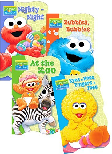 - Sesame Street Beginnings Board Books - Set of Four