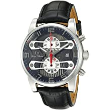 Lucien Piccard Men's LP-40045-014 Bosporus Analog Display Quartz Black Watch