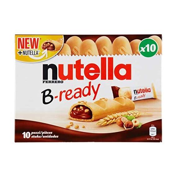 Ferrero Nutella B-Ready 10 Bars (10 X 22g), 220g