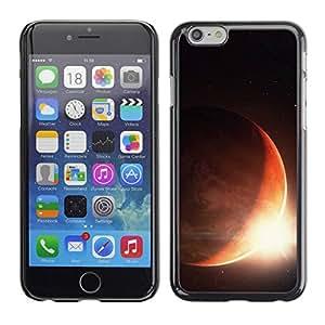 Paccase / SLIM PC / Aliminium Casa Carcasa Funda Case Cover para - Space Planet Galaxy Stars 32 - Apple Iphone 6