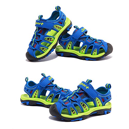 Gloria JR - Sandalias deportivas de Material Sintético para niño Hellblau(Light Blue)