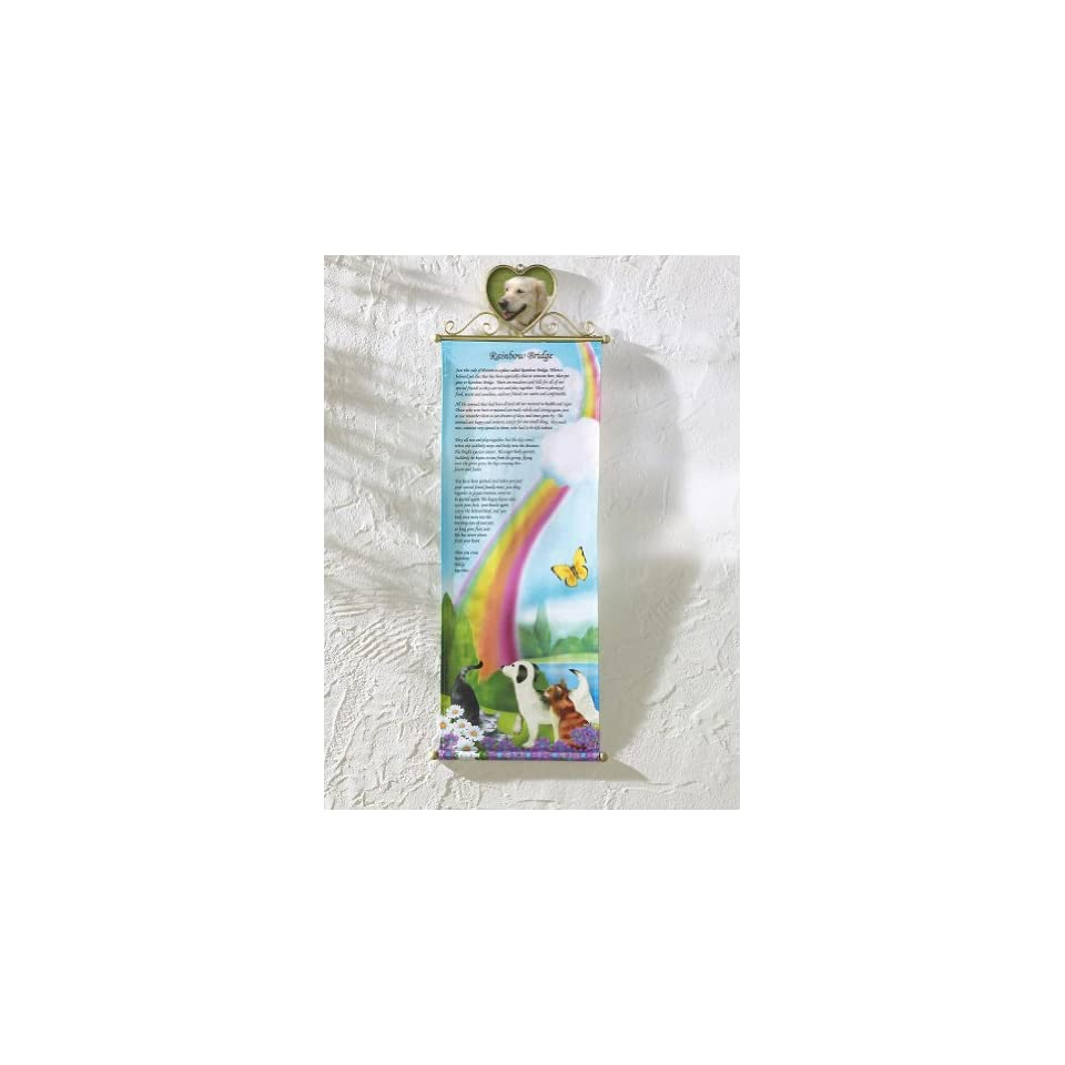 Hanging Pet Memorial Wall Banner By Collections Etc