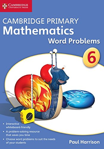 Cambridge Primary Mathematics Stage 6 Word Problems DVD-ROM (Apex Maths)