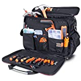 Lifewit Large Tool Bag,Electrician Tools Pouch -18 Inch Wide Open Mouth Shoulder Storage Technicians Tote Pockets Organizer Bags