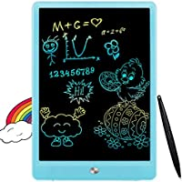 FLUESTON LCD Writing Tablet 10 Inch Drawing Pad, Colorful Screen Doodle and Scribbler Boards for Kids Learning, The Best...