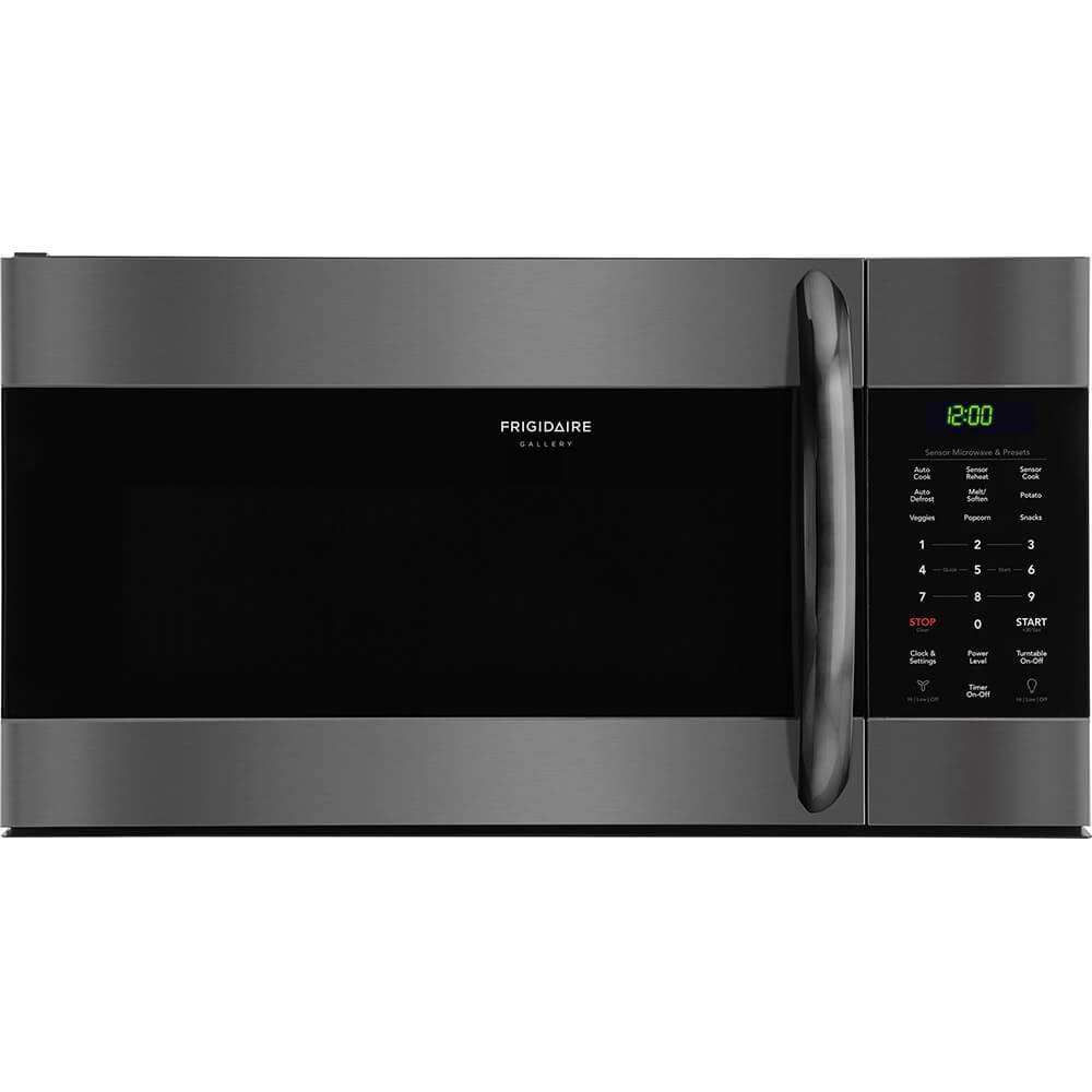 Frigidaire Gallery Black Stainless Steel Over-The-Range Microwave