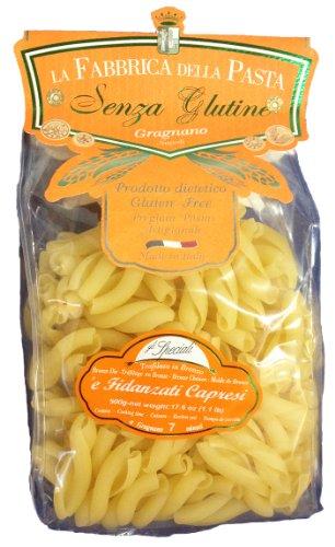 La Fabbrica Della Pasta Gluten Free Fidanzati Capresi 500 Grams (1.1 lb) Pack of 6 (Gluten Free Pasta From Italy compare prices)