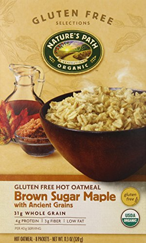 natures-path-organic-gluten-free-instant-hot-oatmeal-brown-sugar-maple-with-ancient-grains-113-ounce