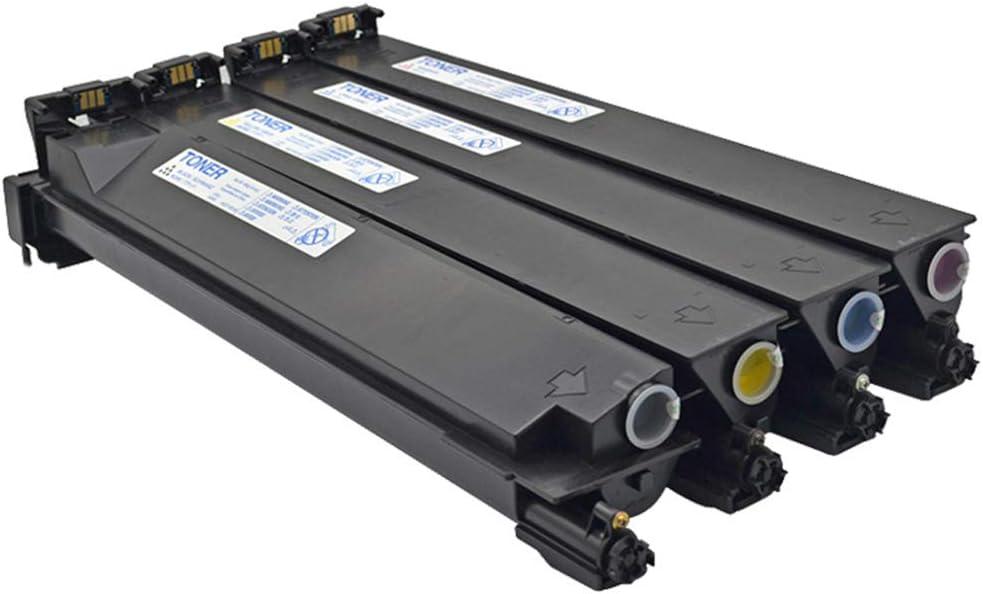 GHMEI TN312 Compatible Toner Cartridge Replacement for TN312 Biz-hub C300 C352 C352P -4colors Black//Cyan//Yellow//Magenta
