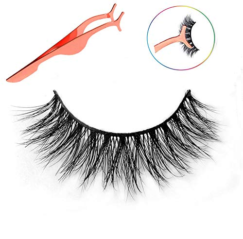 03f123977d6 3D Mink Lashes Hand-made Dramatic Makeup Strip Lashes 100% Siberian Fur  Fake Eyelashes Thick Crisscross Deluxe False Lashes Black Nature Fluffy  Long Soft 1 ...