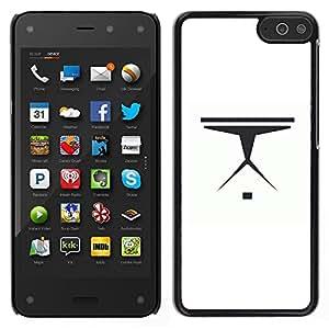 LECELL--Funda protectora / Cubierta / Piel For Amazon Fire Phone -- Nave espacial minimalista --