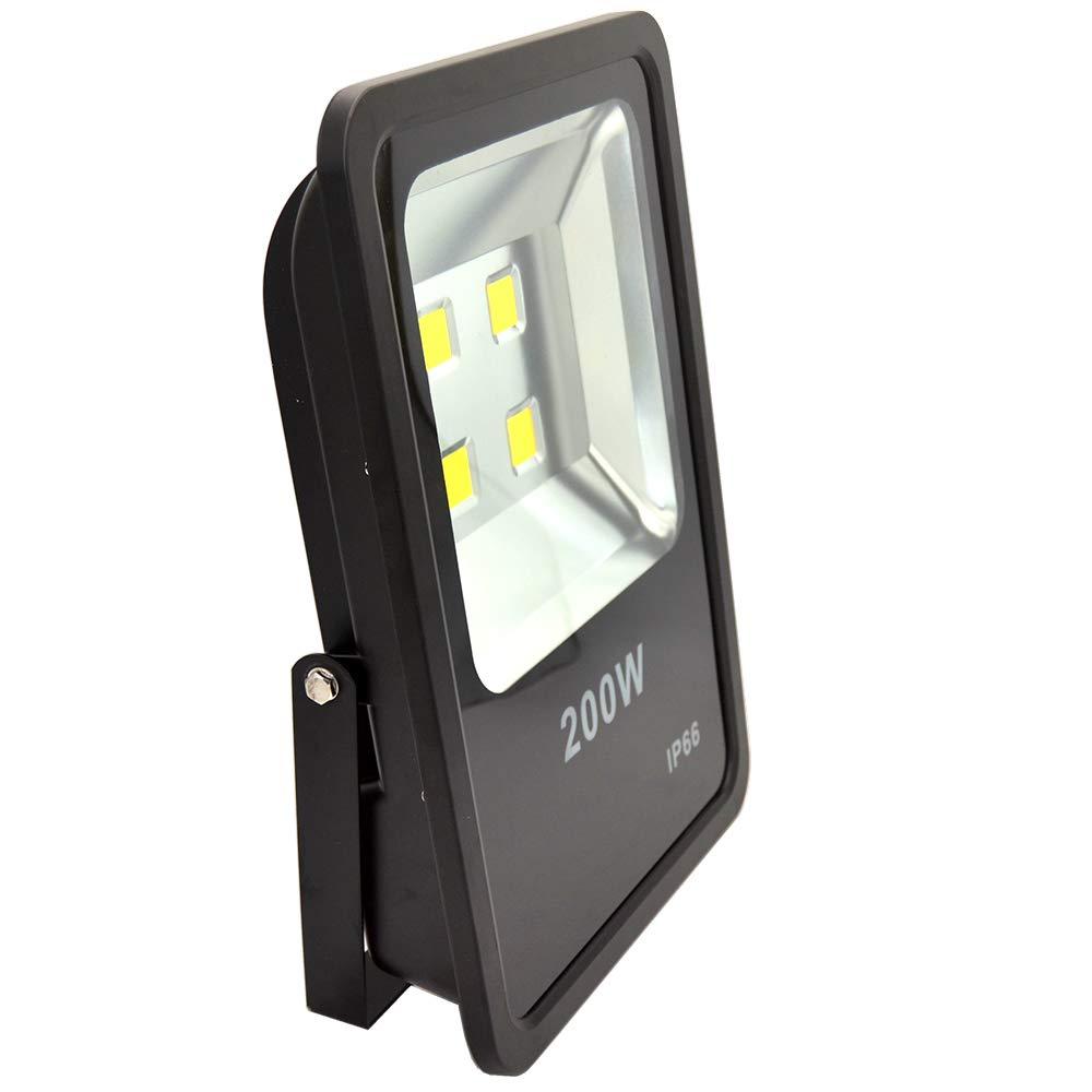 200W LED Flood Light 30000LM Stadium Lights Security Lighting fixtures Daylight AC110-240V by ZESOL (Image #1)