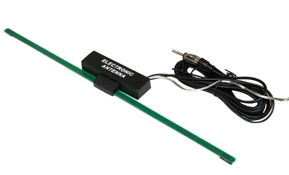 AERZETIX: Antena Universal para interior de coche para radio Autoadhesivo 3800946234555