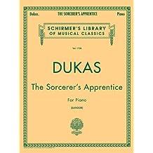 Sorcerer's Apprentice: Schirmer Library of Classics Volume 1738 Piano Solo