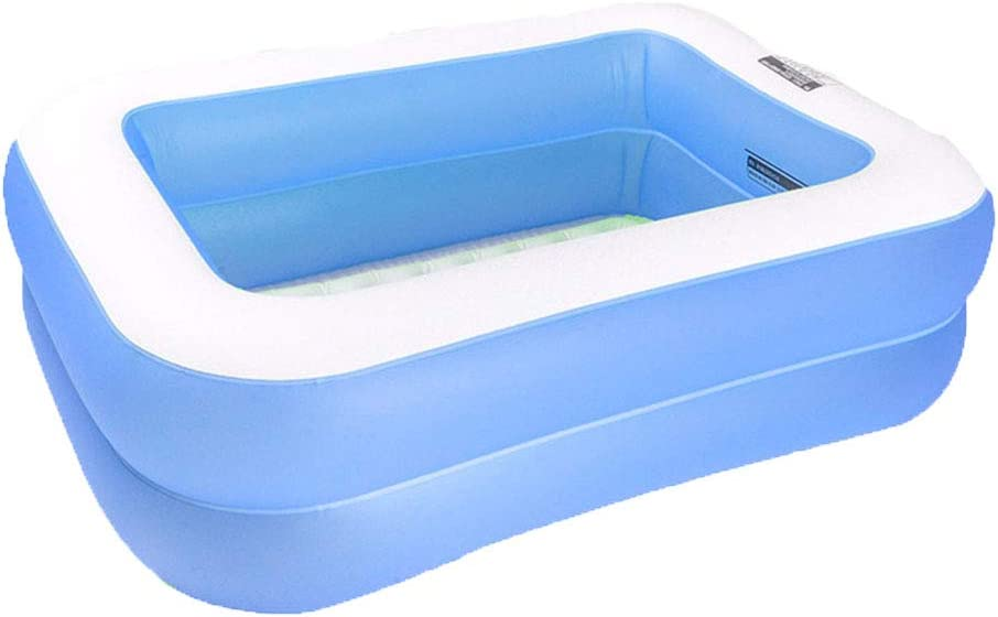 Swimming pool Piscina Inflable YUHAO(UK) para niños – Piscina Rectangular Inflable para Familia y niños: Amazon.es: Jardín