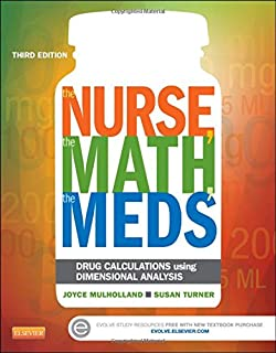 Nursing care plans diagnoses interventions and outcomes the nurse the math the meds drug calculations using dimensional analysis fandeluxe Gallery