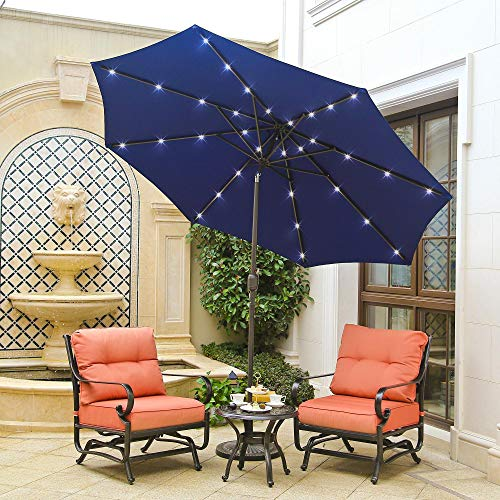Light Blue Garden Parasol in US - 5